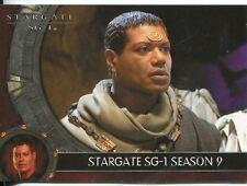 Stargate SG1 Season 9 Promo Card P3