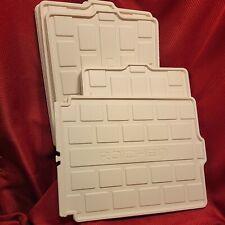 Roichen Trays Only ! white clothes closet organizer storage tray Replacement