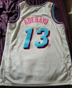 Bam Adebayo Miami Heat Vice City White Swingman Jersey (Adult Large - New)