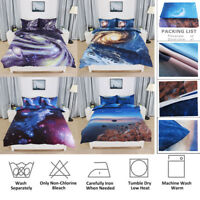 Hotel Quality Galaxy Cosmos Patterned Duvet Cover Sets - 4 Beautiful Designs