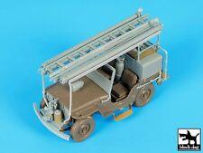 Black Dog 1/35 Willys CJ2A Jeep Fire / Brush Truck Conversion (Tamiya) T35190