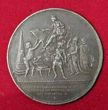 Constitution Les sacrifices financiers à faire Médaille uniface (1789)