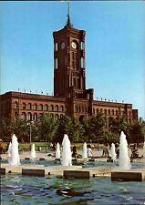 BERLIN Ost DDR Ansichtskarte Gebäude Rathaus Postkarte 1981 ungelaufen ungebr.