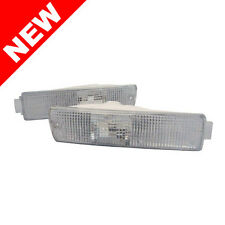 VW MK2 GOLF GTI 2 CLEAR BIG BUMPER TURN SIGNAL LIGHTS