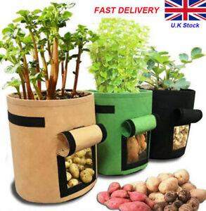 Plant Growing Bags Potato Fruit Vegetable Garden Planter Growing Bag 26L