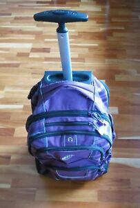 Bestway-Rucksack, blau mit Muster, mit Laptop-Fach, mit Rollen