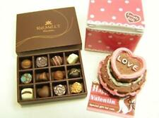 re-ment miniature #48 Elegant Sweets valentine cake chocolates in box