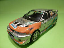 KIT (BUILT) TAMIYA 1:24 MITSUBISHI LANCER EVO - BELGIE - RARE SELTEN - GOOD