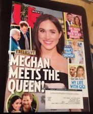 US WEEKLY MAGAZINE SEPTEMBER 25 2017  MEGHAN MEETS THE QUEEN Zayn Gigi