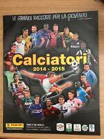 ALBUM vuoto CALCIATORI Panini 2014/2015 con figurine omaggio