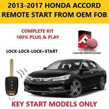 Plug And Play Remote Start 2013 2017 Honda Accord Key Start Fits Honda