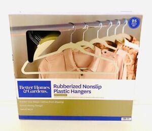 Better Home & Gardens Rubberized Nonslip Plastic Hangers 25pc.