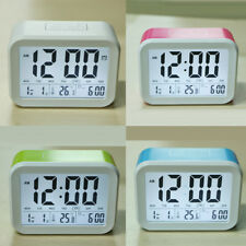 Digital Voice Talking Snooze Alarm Clock Temperature Calendar With Backlight