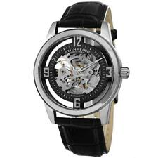 Stuhrling Original 877 02 Winchester Automatic Skeleton Black leather Mens Watch