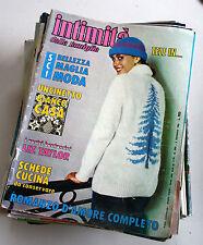 INTIMITà DELLA FAMIGLIA ANNO ANNATA 1982 49 NUMERI RIVISTA SETTIMANALE
