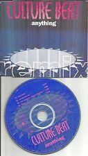 CULTURE BEAT Anything REMIX 4TRX w/ RARE MIXES Europe CD single USA SELLER 1994