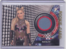 2018 Topps WWE Women's Division Natalya /199 Mat Relic Royal Rumble