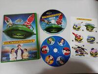 THUNDERBIRDS THUNDER BIRDS DVD UNIVERSAL + EXTRAS PEGATINAS