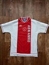 Vintage Ajax Shirt Home 1999 - 2000 Umbro Size M