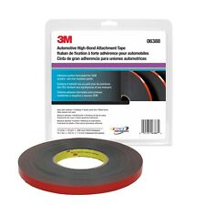 3M 06388 Automotive Acrylic Plus 45 mil Black Attachment Tape (1/2 in. x 20 yd.)