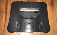 NINTENDO 64 CONSOLE FOR SPARES OR REPAIR - TESTED - SEE CONDTION DESCRIPTION