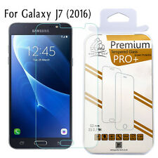 3 Pack Galaxy J7 2016 Gorilla Screen Protector Premium Tempered Glass LCD Guard