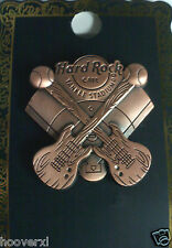 2012 HARD ROCK CAFE NEW YORK YANKEE STADIUM 3D BATTING GUITARS/PLAYING FIELD PIN