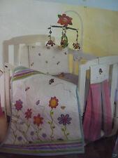 Brand New Playgro Amazing Garden Baby Cot Quilt And Pillowcase Girl Boy