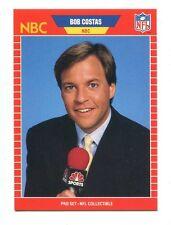 1989 Pro Set Announcers #23 Bob Costas NBC