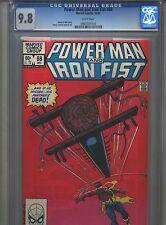 Power Man and Iron Fist #88 CGC 9.8 (1982) Black Mariah & Scimitar Highest Grade