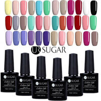 6Bottles/Set 7.5ml Nail Art UV Gel Nail Polish Soak Off Color Gel  DIY