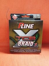P-LINE XTCB 8 Braid Fishing Line 30lb (300yd) #PXB8300-30 Green
