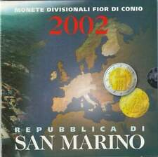 San Marino set 2002 / 1 cent - 2 euro KMS
