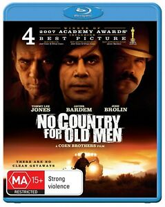 No Country for Old Men Blu-ray Region B NEW