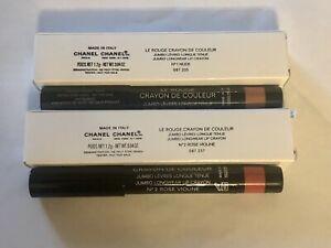 Chanel Jumbo Longwear Lip Crayon Many Colors NIB