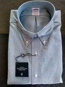 NWOT Brooks Brothers Green Supima Oxford Cloth Button Down Madison MSRP $140