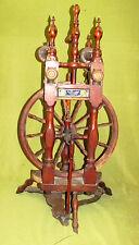 Doppel Spinnrad 1883 !! Dachbodenfund !!