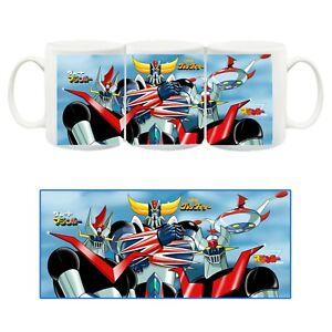 Super Robot Tazza Ceramica Mug Cup Goldrake Mazinga Z e Grande Mazinga Mazinger