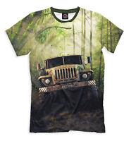URAL truck t-shirt - Offroad motor lorry tee best russian offroader