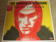 TOWNES VAN ZANDT - THE NASHVILLE SESSIONS - NEUF - LP Record