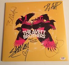 The Avett Brothers Signed Magpie & The Dandelion Album Vinyl PSA/DNA FL #V06786