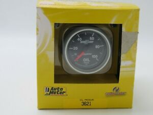 Auto Meter 3621 Sport Comp II Oil Pressure Gauge