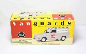 Vanguards VA4006 Ford Anglia Van B.E.A (Follow Me) - Mint In Box
