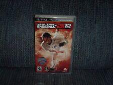 2K Sports - Major League Baseball - 2K12 (Sony PSP, 2012) - Justin Verlander