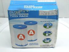 New Intex Filter Cartridge Twin Pack A #56680T 2 pack