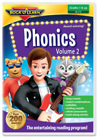 Phonics Volume 2 DVD by Rock 'N Learn (New)