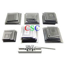 Brand New 501 Pieces Universal Template Stencils Kits + mini Heat Reball Station