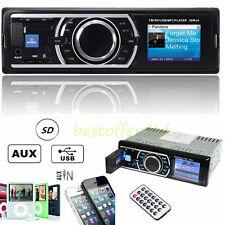 Multi Func Auto Car Stereo Audio In-Dash FM Aux Receiver SD USB MP3 Radio Player