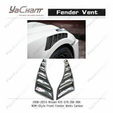 Carbon Kit For 2008-2016 Nissan R35 GTR CBA DBA NSM-Style Front Fender Vent