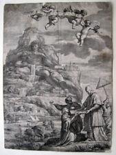 Athos Pape Alexandre VII Cuivre clés François SPIERRE PIETRO DA CORTONA